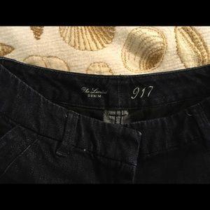 The Limited Shorts - Blue denim short